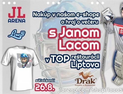 Súťaž o večeru s Janom Lacom v TOP reštaurácii Liptova Drak