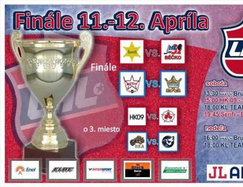 Finále LHL 11.-12-apríla