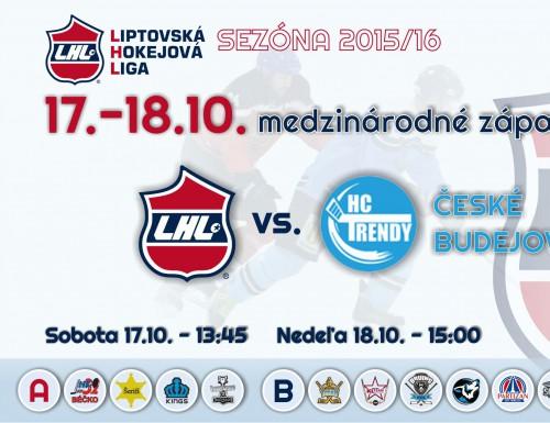 Medzinárodné zápasy LHL vs. HC Trendy Česká Republika